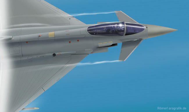 illustration eurofighter