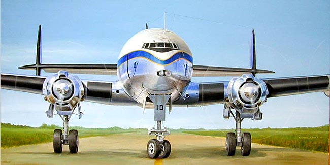 painting super constellation