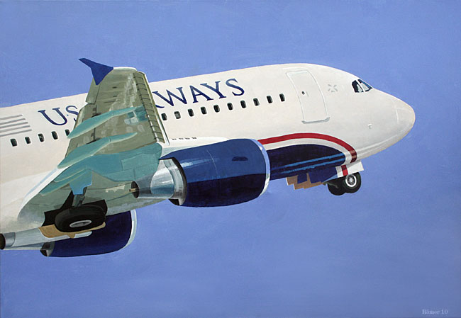 illustration us airways,  Airbus a-320